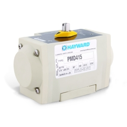 Hayward® PMD4 Glass Filled Polypropylene Air to Air Pneumatic Actuators