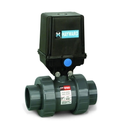 Hayward® EAUTB Series Actuators & True Union Ball Valves