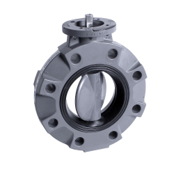 Hayward® BYV Series Butterfly Valves - Actuation Ready