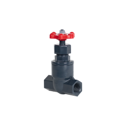 "3/4"" Threaded PVC Globe Valve"
