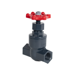 "1"" Threaded PVC Globe Valve"