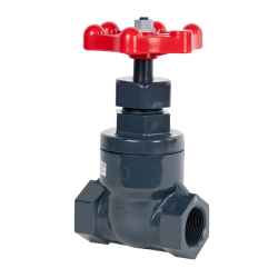 "1-1/2"" Threaded PVC Globe Valve"