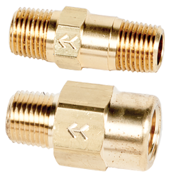 "SMC 210 Series 1/8"" Brass Check Valves"