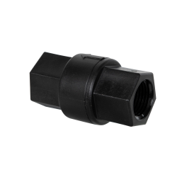"1/2"" FNPT x 1/2"" FNPT Polypropylene Check Valve with EPDM Seals/No Spring"