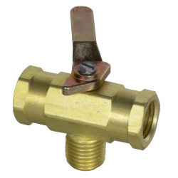 SMC 3-Way 727 Series Brass Ball Valve
