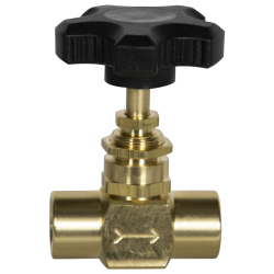 SMC 589 Series Brass Needle Valve