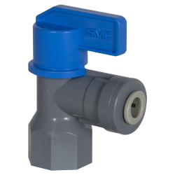 SMC 658 Series 90° Rotary PVC Ball Valve