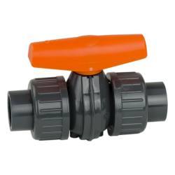 GF PVC COLORO True Union Ball Valves Type 355