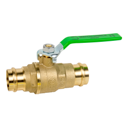 "1-1/4"" 759PLF Lead Free Press Ball Valve"