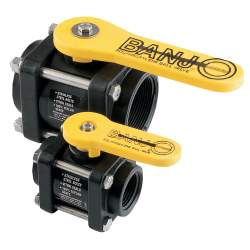 Banjo® Polypropylene Bolted Ball Valves