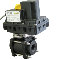 "1/4"" John Guest® Push-Lock Full Port Electric Valve"