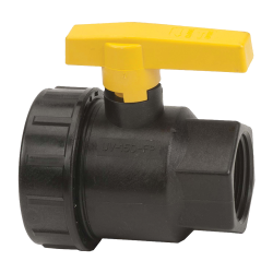"1-1/2"" Full Port Single Union Valve with 1-1/2"" Flow Size"