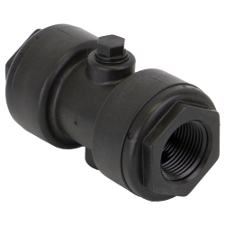 "1"" x 1"" Polypropylene Pinch Valve with EPDM Gasket"