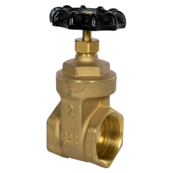 "2"" FNPT No-lead Brass Gate Valve"
