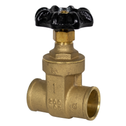 "1"" CTS Sweat No-lead Brass Gate Valve"