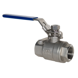 "3/4"" FNPT 316 Stainless Steel Full Port Ball Valve"