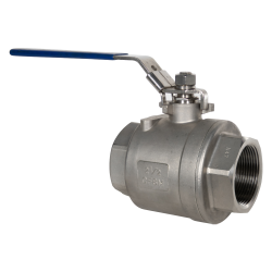 "2-1/2"" FNPT 316 Stainless Steel Full Port Ball Valve"