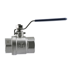 "1-1/4"" FNPT 304 Stainless Steel Ball Valve"