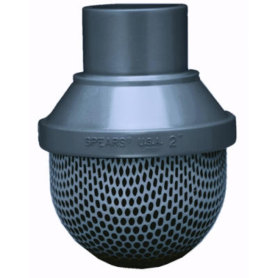 PVC & CPVC Foot Valve Screens