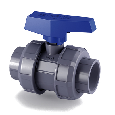 Cepex® e-QUA Series PVC True Union Ball Valve