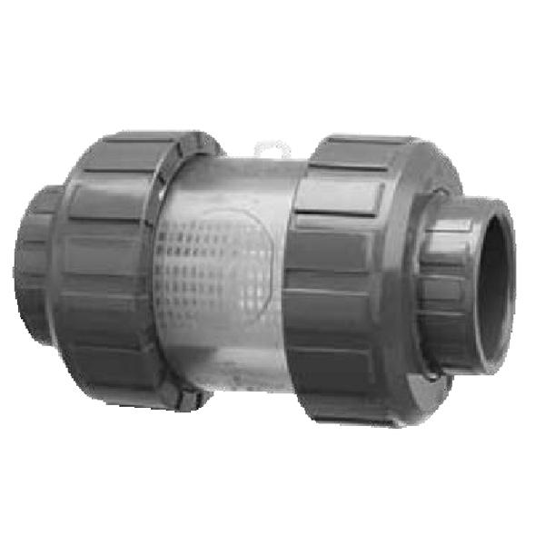Praher C4 PVC Inline Strainer
