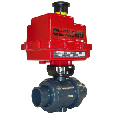 Asahi® Fast Pack Type 21 Valve with Series 92 Electric Actuator