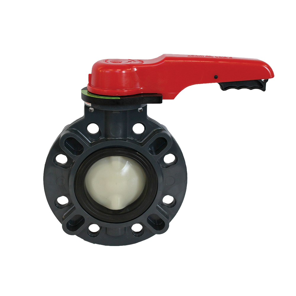 "4"" Type 57 Butterfly Valve with FKM Seat"