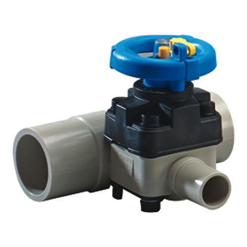 PP-Pure® T-343 Series High Purity Zero-Deadleg Diaphragm Valves