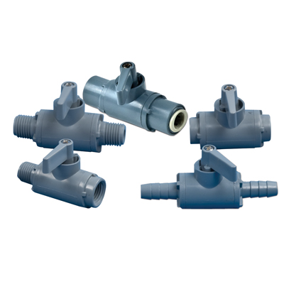 SMC 226 Series PVC Two-Way Ball Valves
