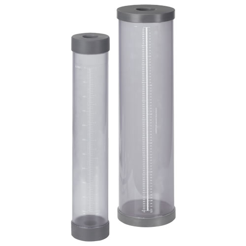 "1-1/2"" NPT 5000mL CCS Series Calibration Cylinder/Column"