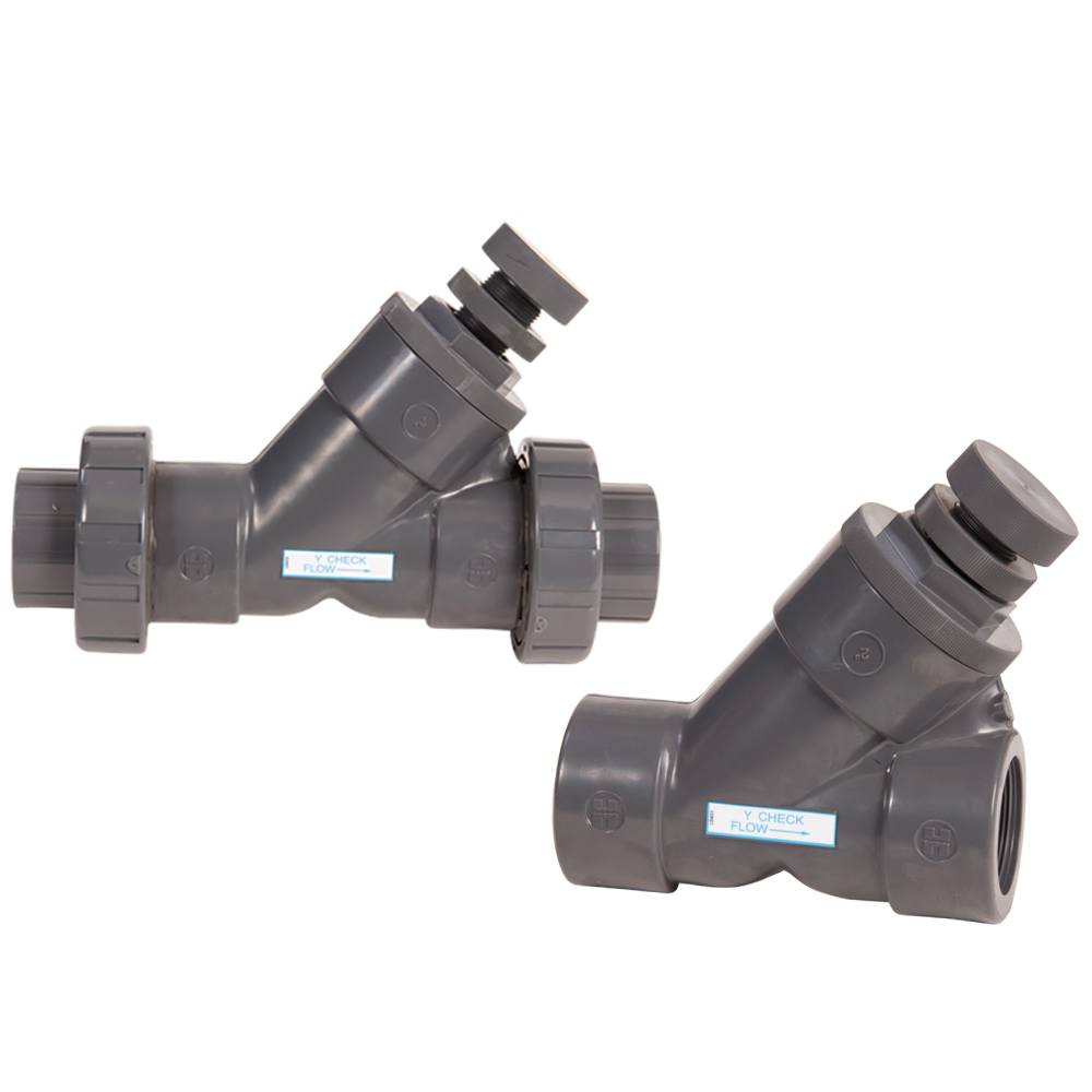 Hayward® SLC Series Spring Loaded Y-Check Valves