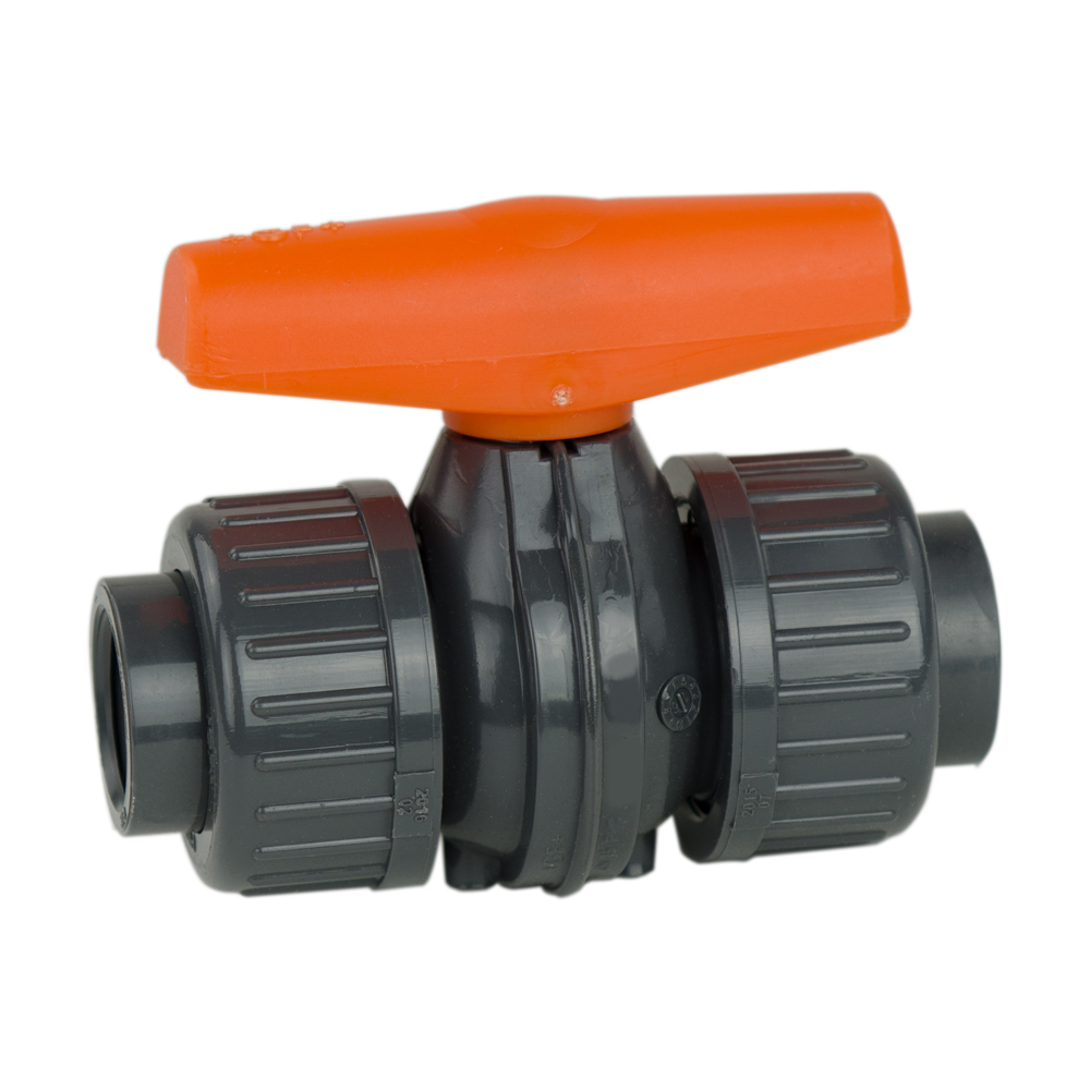 "1-1/4"" Threaded COLORO True Union Ball Valve with EPDM Seals"