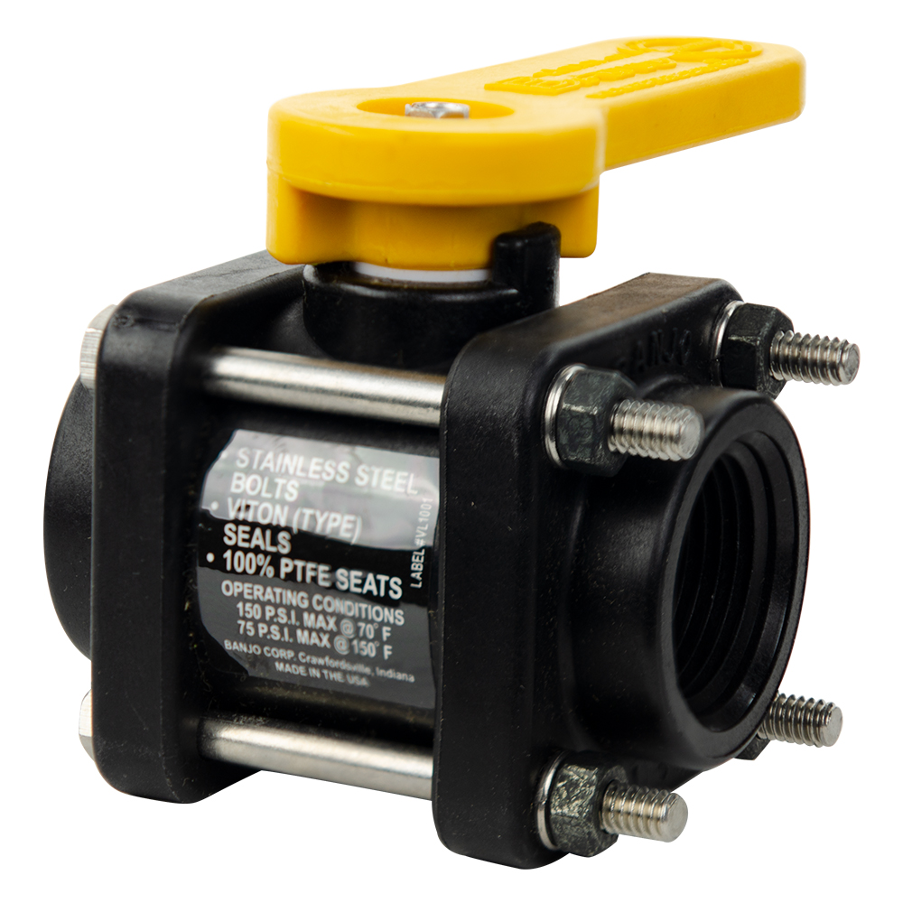 "1"" Bolted Standard Port Valve with 3/4"" Flow Size"