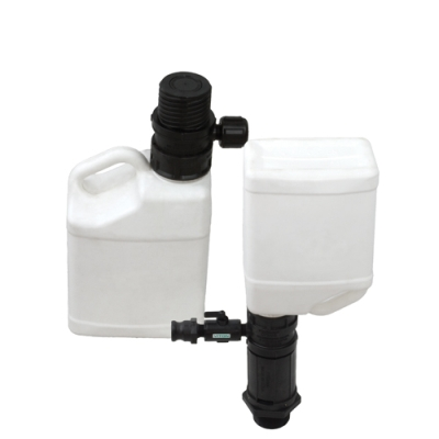 "Closed Mix Tank Adapter with 2"" MNPT Thread"