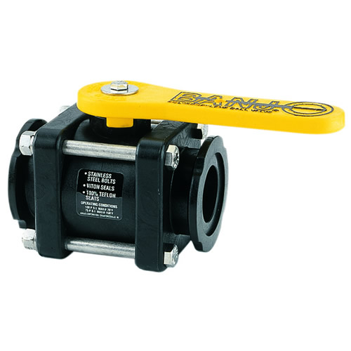 Banjo® Manifold Flanged Ball Valves