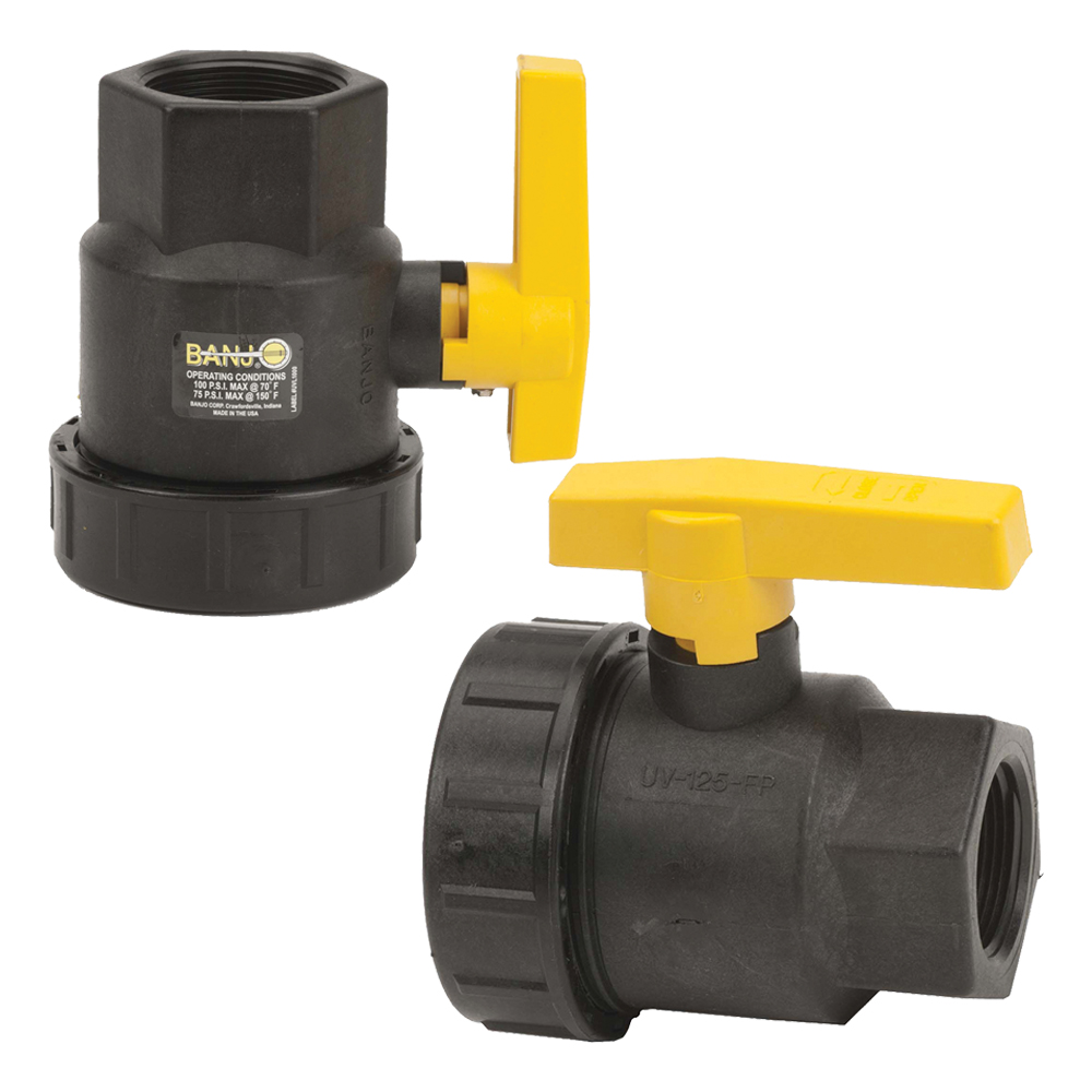Banjo® Single Union Valves