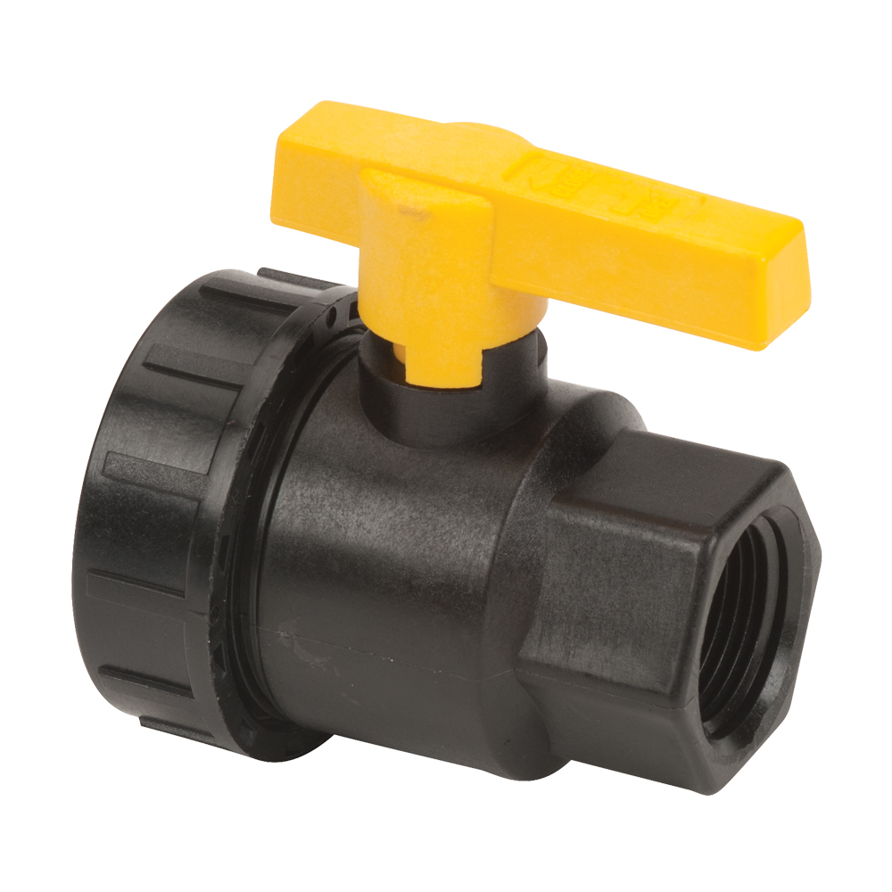 "3/4"" Full Port Single Union Valve with 3/4"" Flow Size"