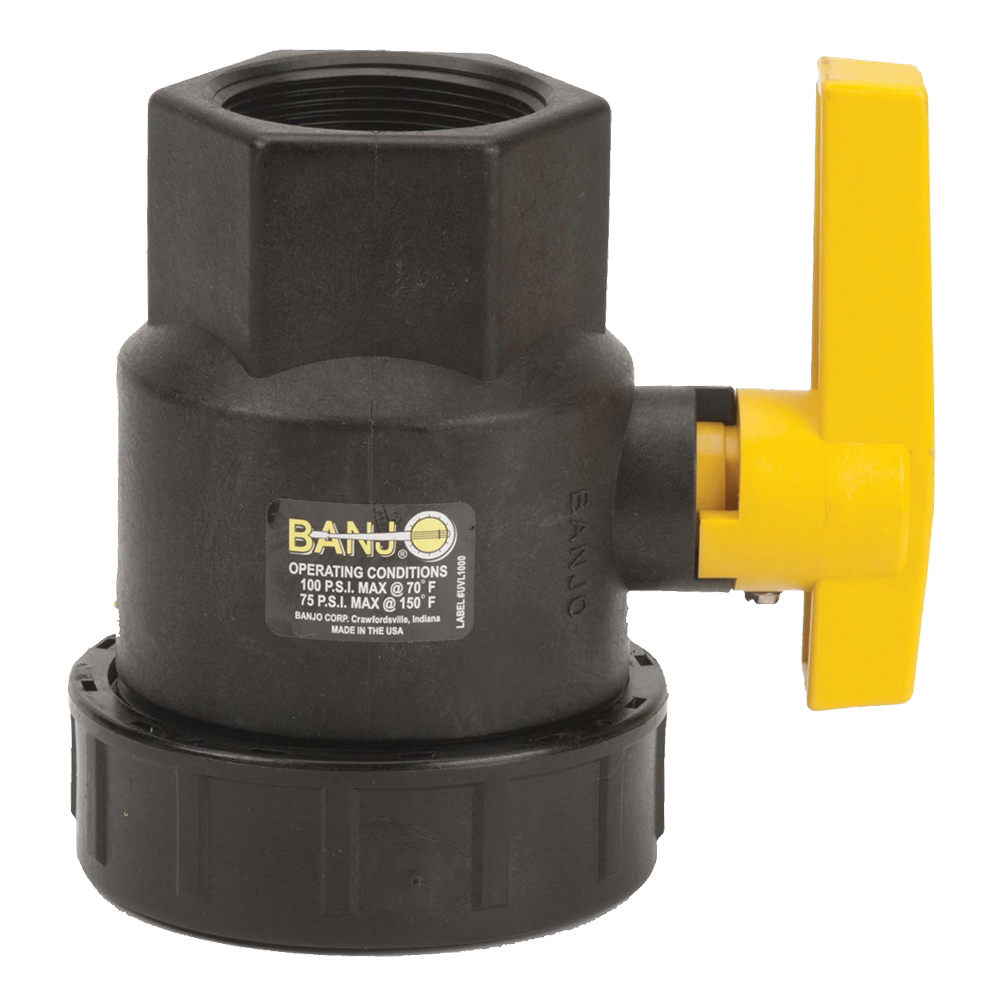 """2"""" Full Port Single Union Valve with 2"""" Flow Size"""