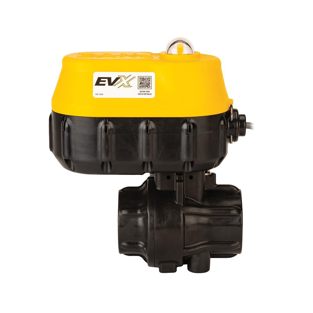 """1-1/4"""" Standard Port Electric EVX® 12V Valve"""