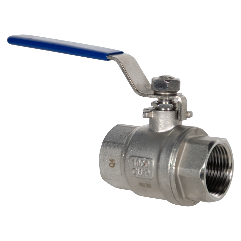 "1"" FNPT 304 Stainless Steel Ball Valve"