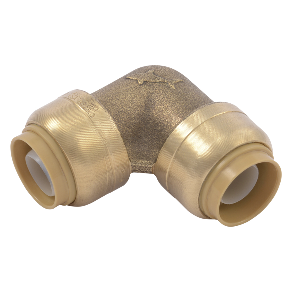 "1"" Push-to-Connect x 1"" Push-to-Connect SharkBite® Brass 90° Elbow"