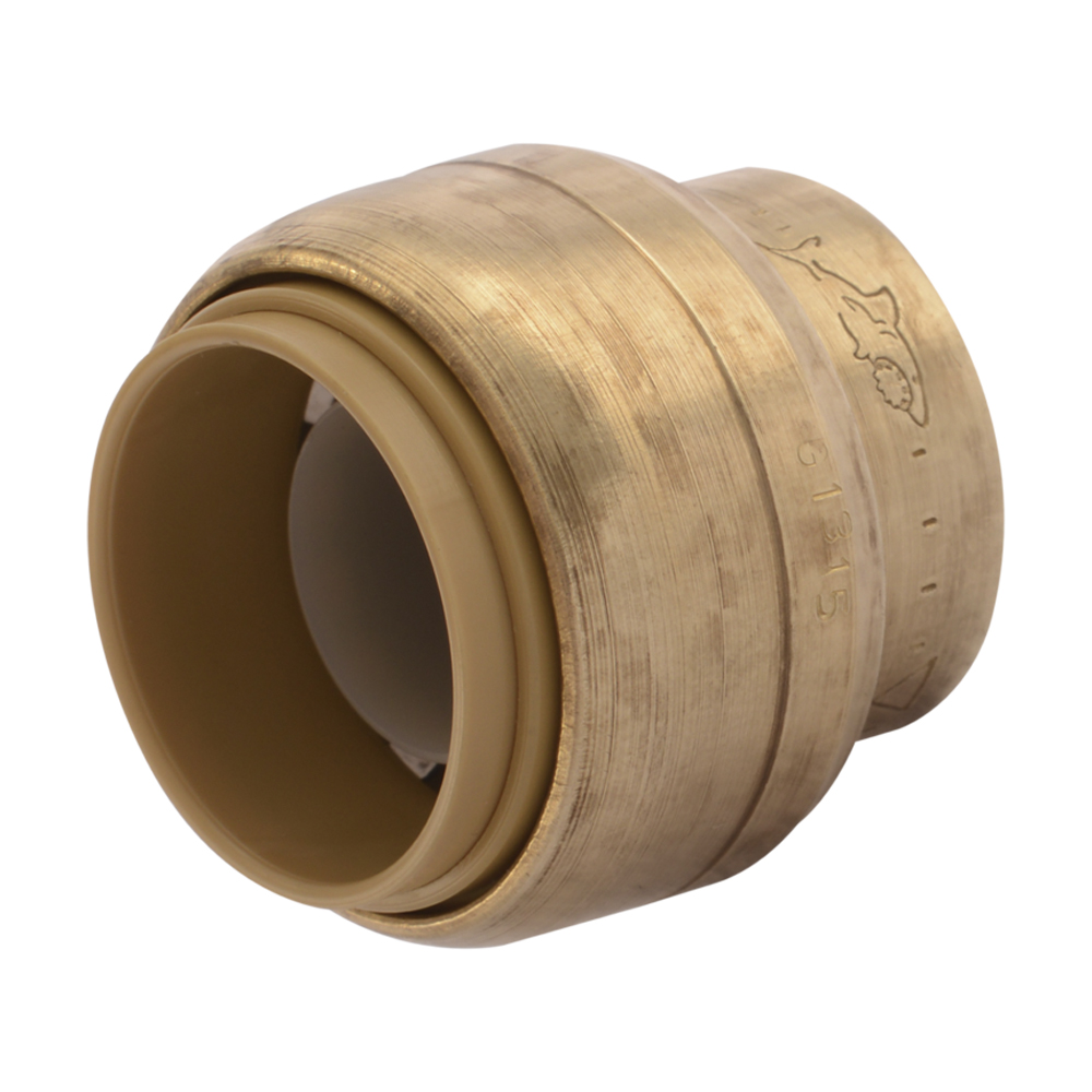 "1/2"" Push-to-Connect SharkBite® Brass End Cap"