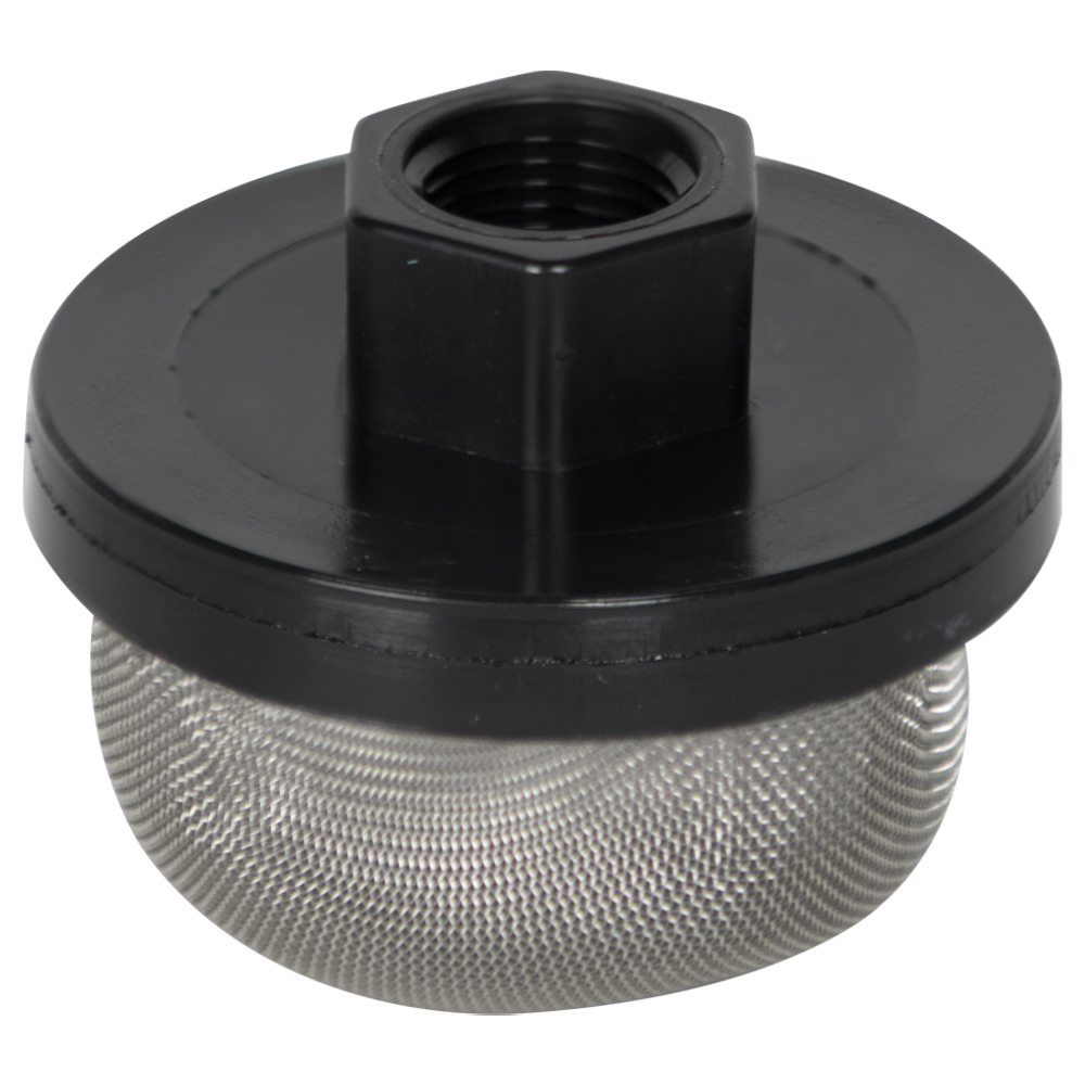 "3/8"" FNPT x 40 Mesh x 2.385"" Dia. Nylon/Stainless Steel Suction Strainer"