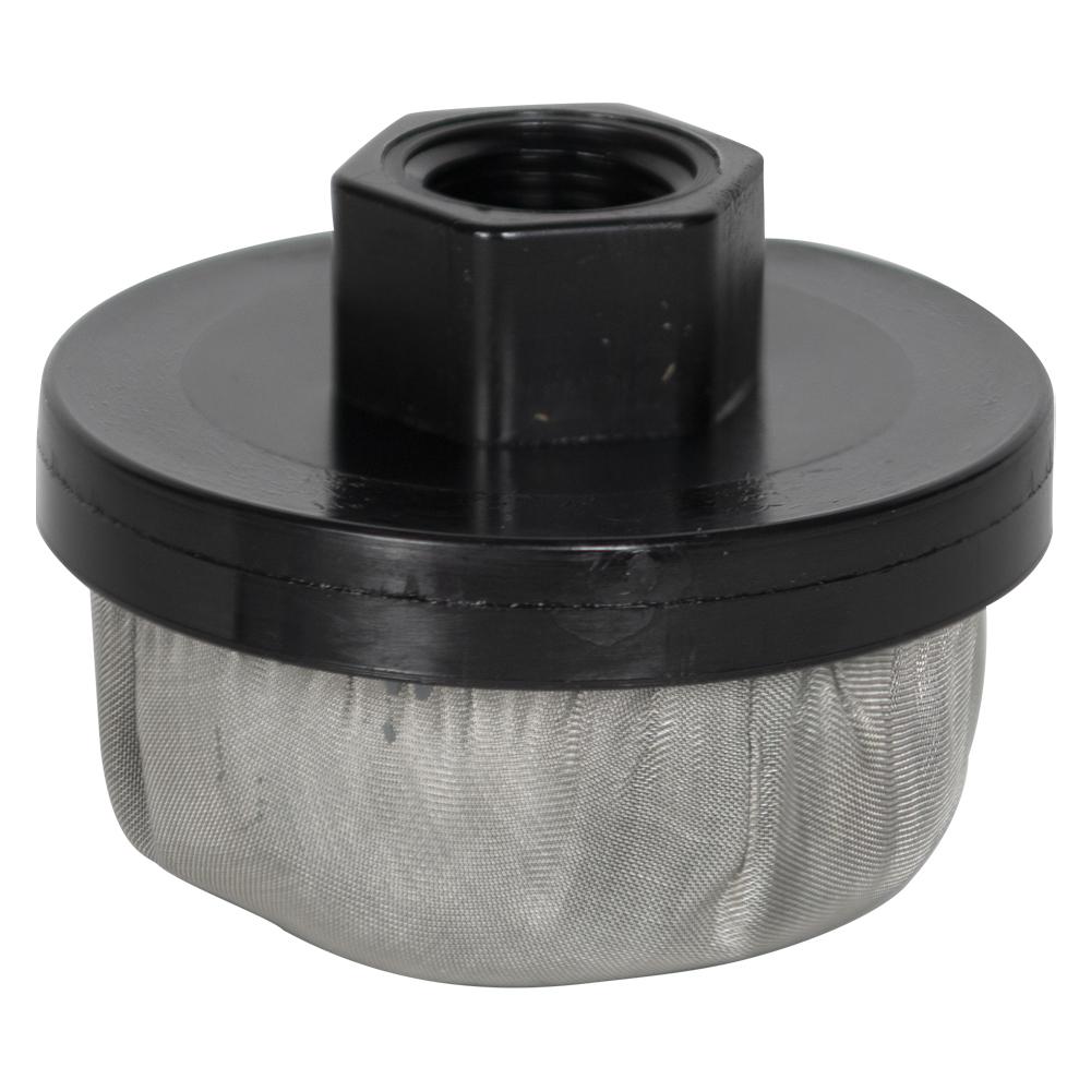 "3/8"" FNPT x 100 Mesh x 2.385"" Dia. Nylon/Stainless Steel Suction Strainer"