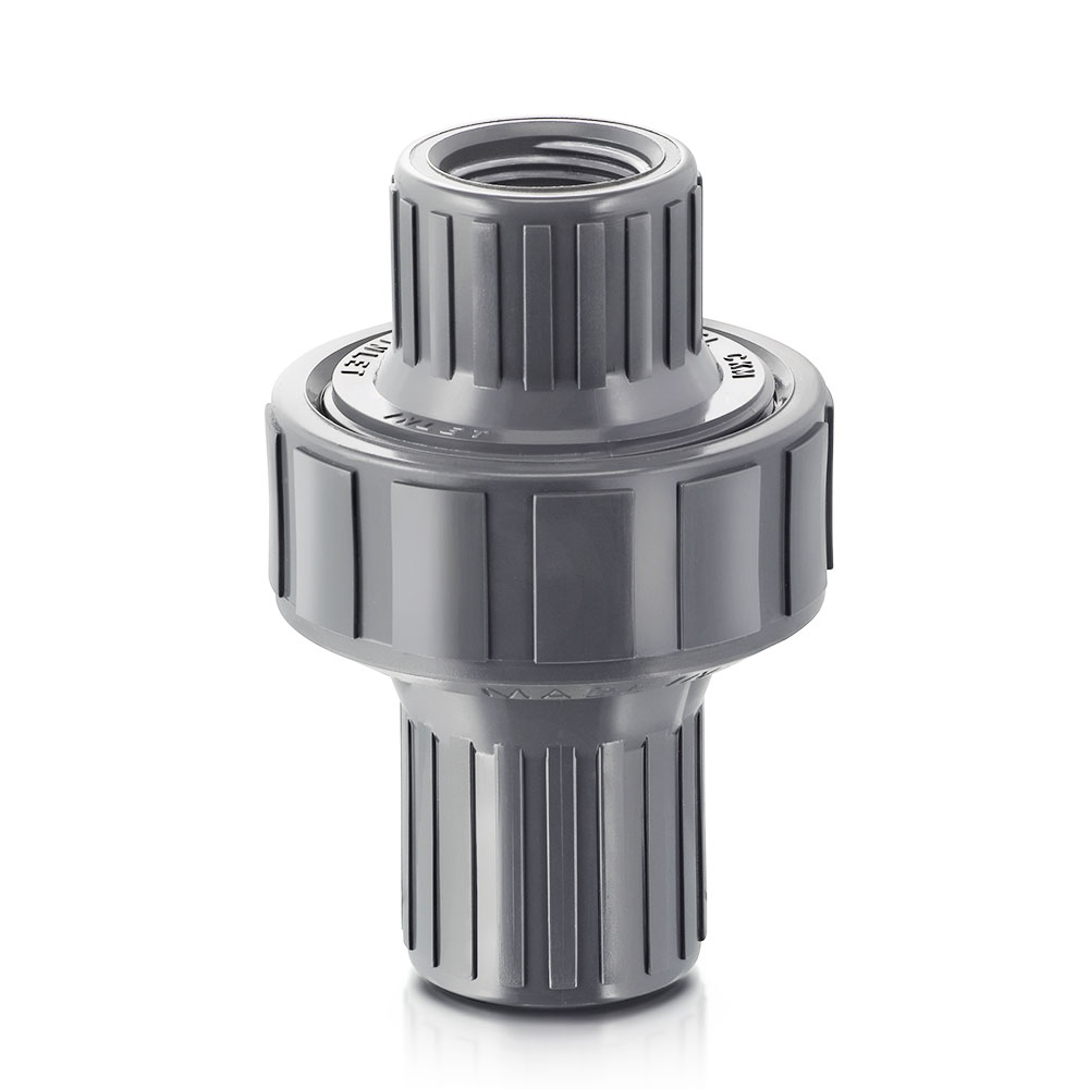 Quot npt cpvc ckm diaphragm check valve with viton