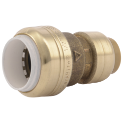 SharkBite® Brass Push-to-Connect Transition Coupling