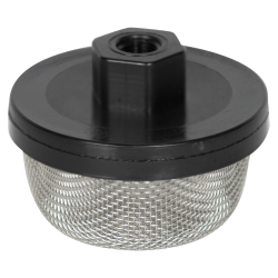 "1/8"" FNPT x 20 Mesh x 2.385"" Dia. Nylon/Stainless Steel Suction Strainer"