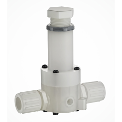 Series RVDT PTFE Diaphragm Back Pressure Valves