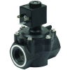 "3/4"" 2-Way Nylon Solenoid Diaphragm Valve  - 24 VDC Spaded"