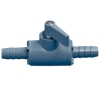 "1/4"" HB x 1/4"" HB Series 226 PVC Ball Valve with Buna-N Seals"
